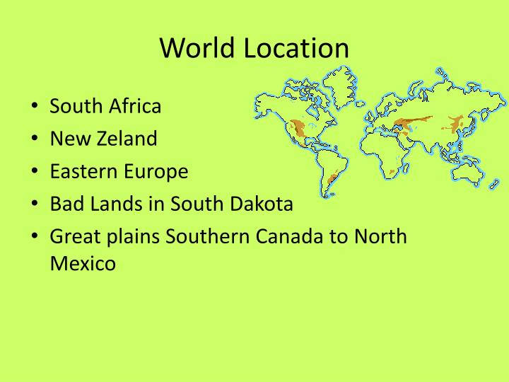 World location