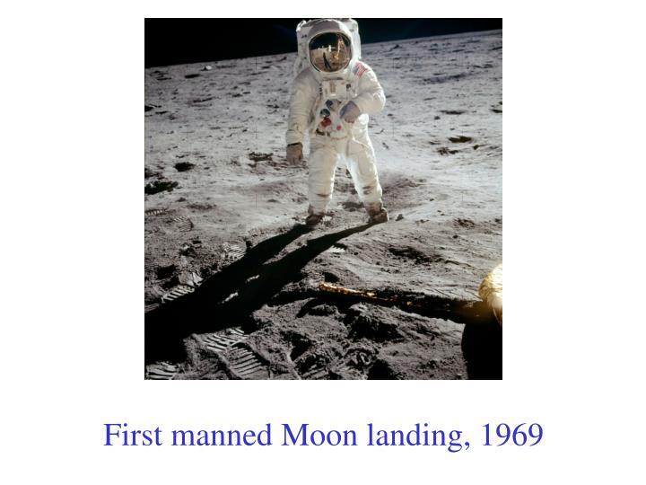 Dates of manned moon landings
