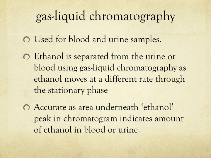 gas-liquid chromatography