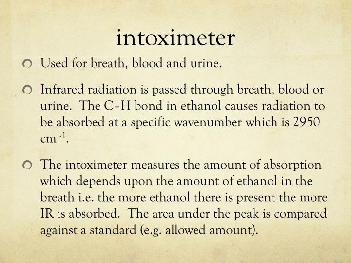 intoximeter