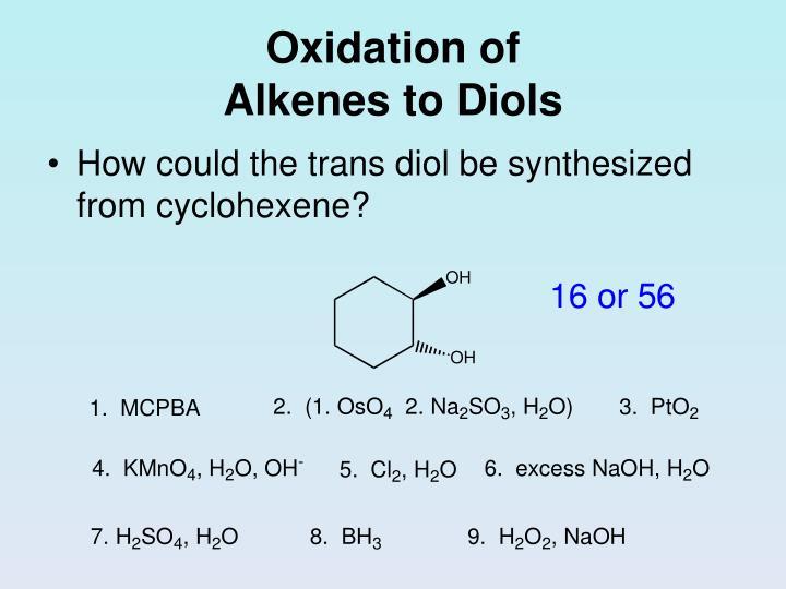 Oxidation of