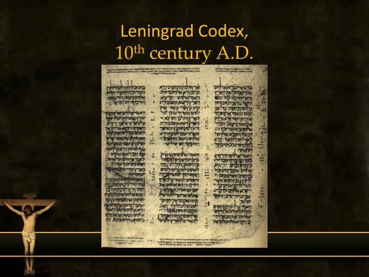 Leningrad Codex