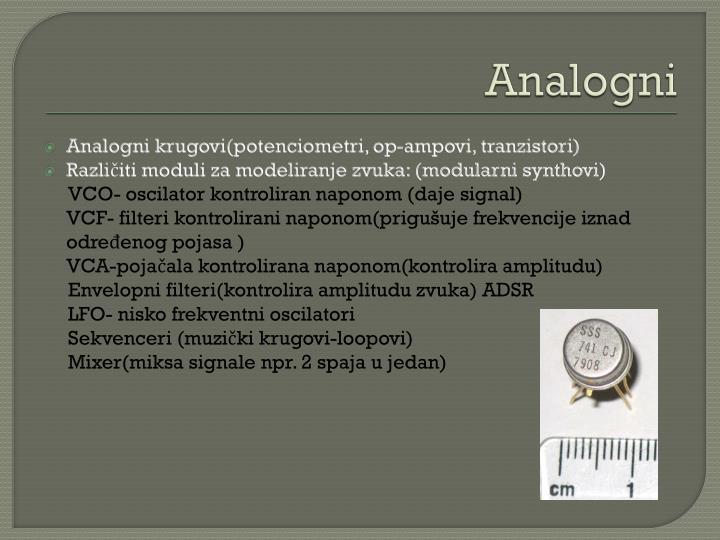 Analogni