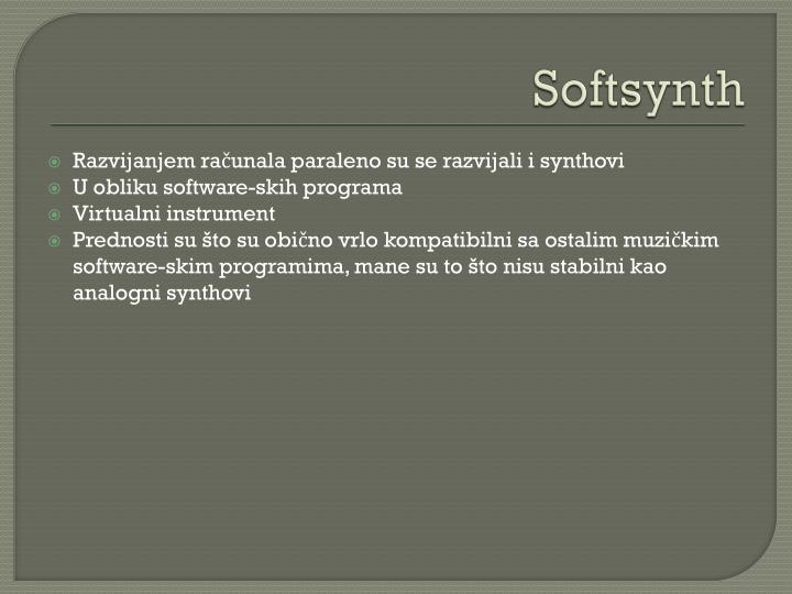 Softsynth