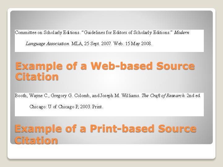 Example of a Web-based Source Citation