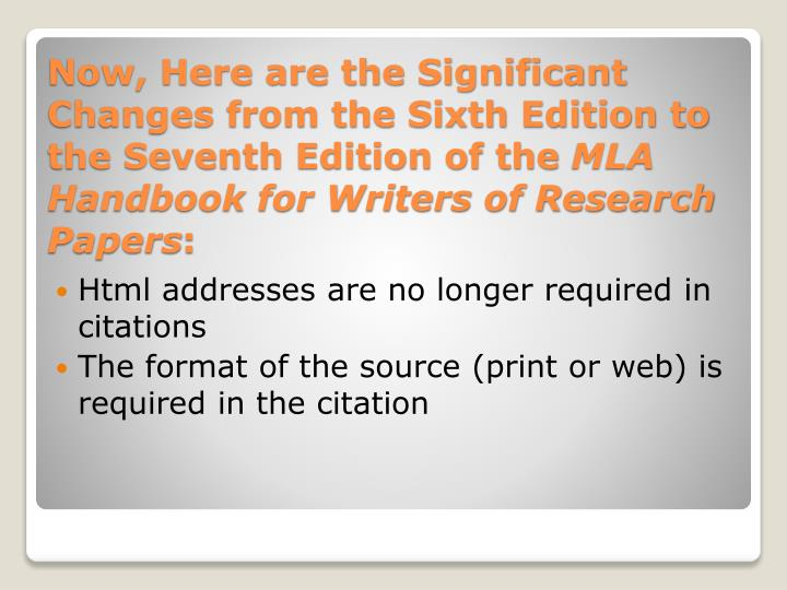 Html addresses are no longer required in citations