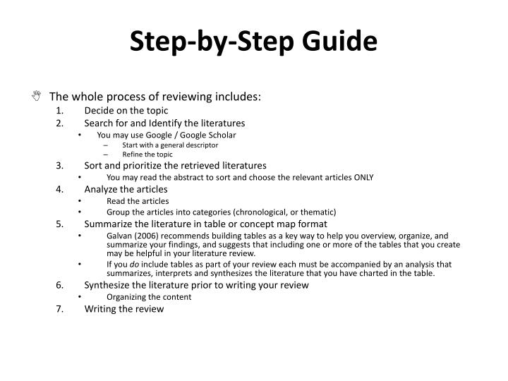 Step-by-Step Guide