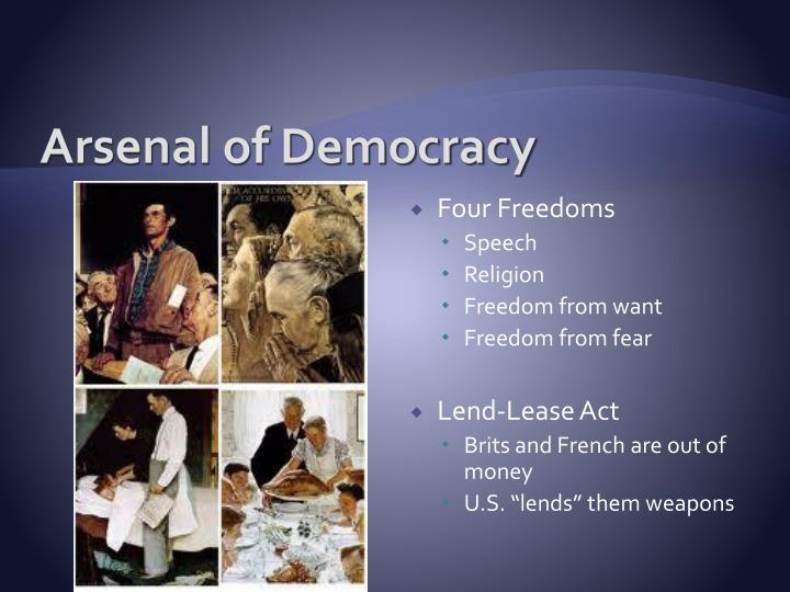 arsenal in democracy talk analysis essay