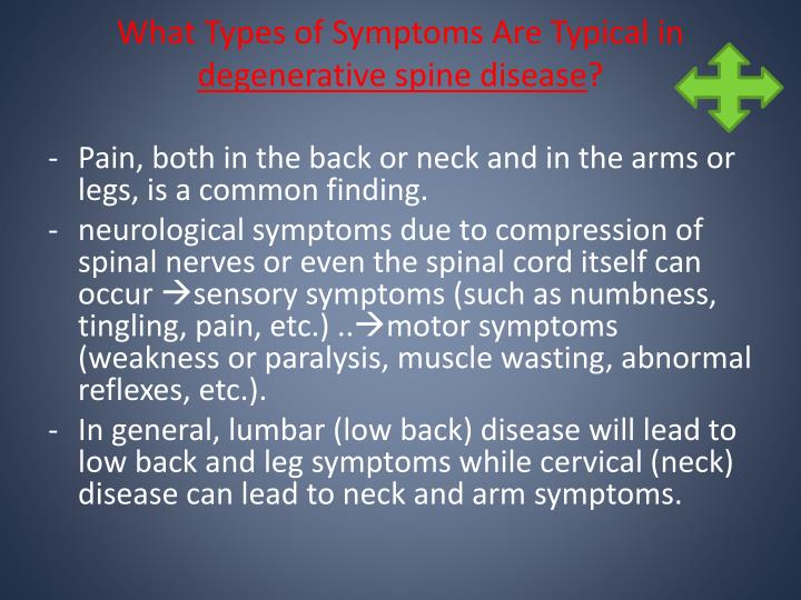 What Types of Symptoms Are Typical in