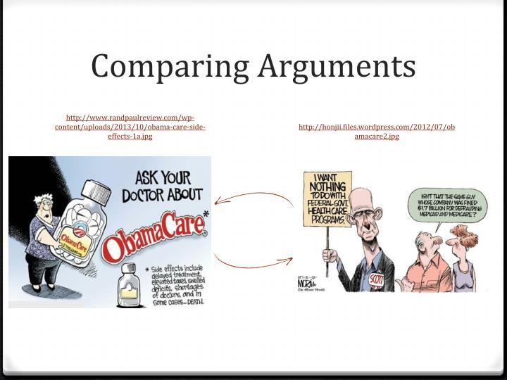 Comparing Arguments