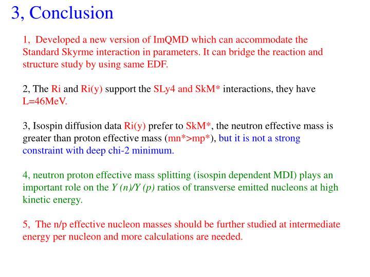 3, Conclusion