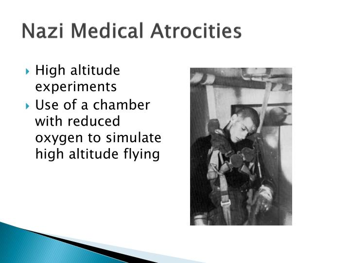Nazi Medical Atrocities