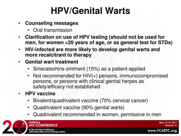 HPV/Genital Warts