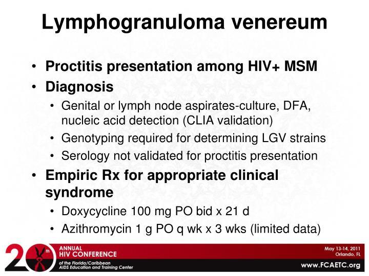 Lymphogranuloma venereum
