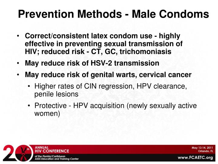 Prevention Methods - Male Condoms