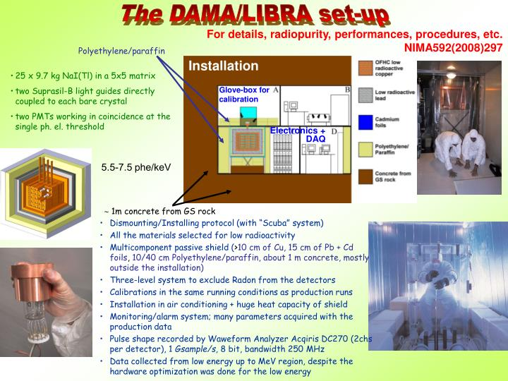 The DAMA/LIBRA set-up