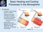 basic heating and cooling processes in the atmosphere4