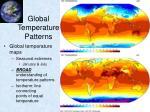 global temperature patterns