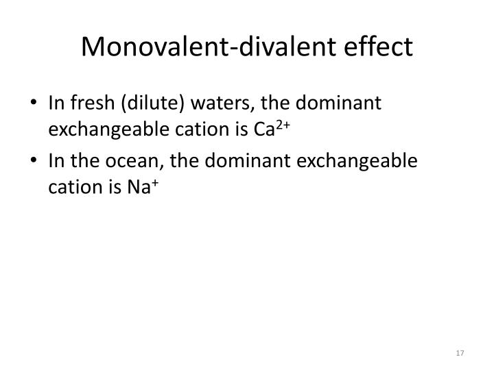 Monovalent