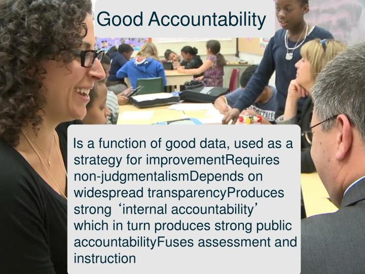 Good Accountability