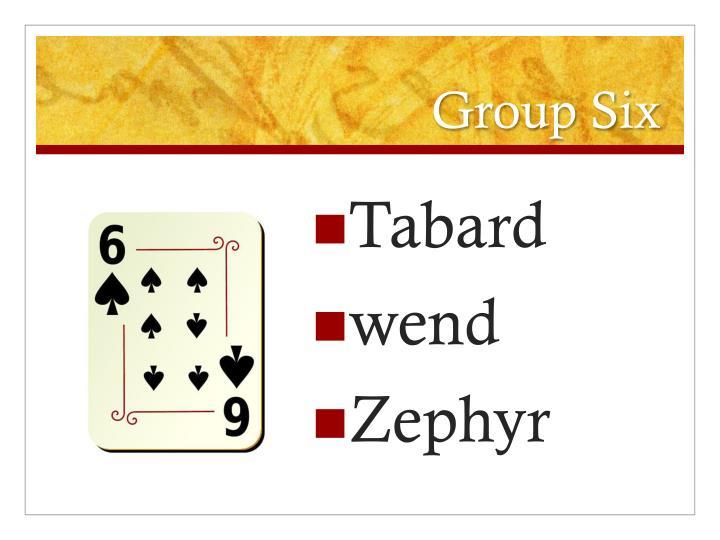 Group Six