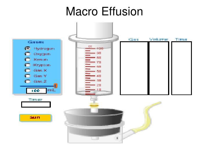 Macro Effusion