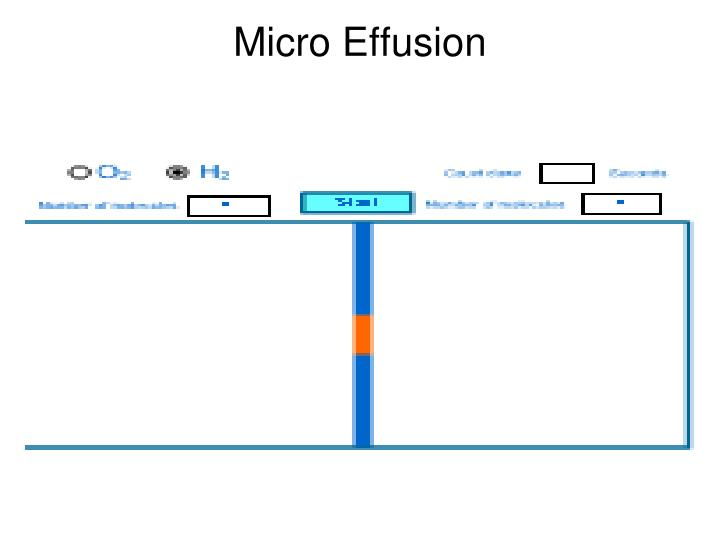Micro Effusion