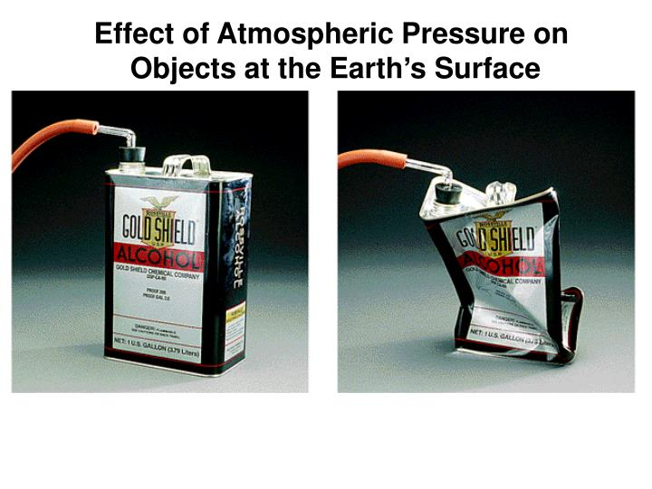 Effect of Atmospheric Pressure on