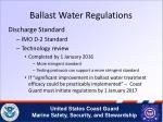 ballast water regulations1