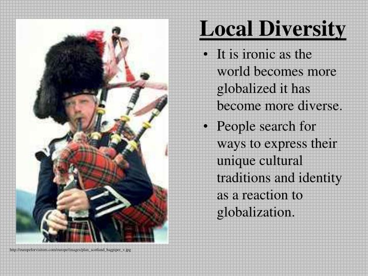 Local Diversity