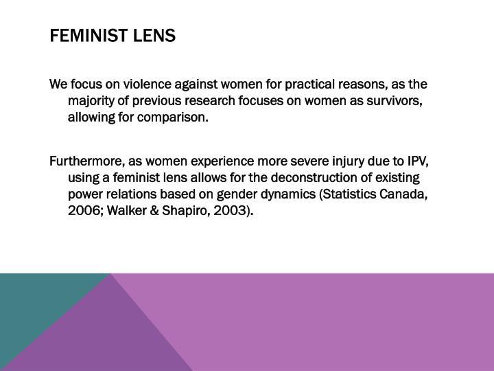 Feminist Lens