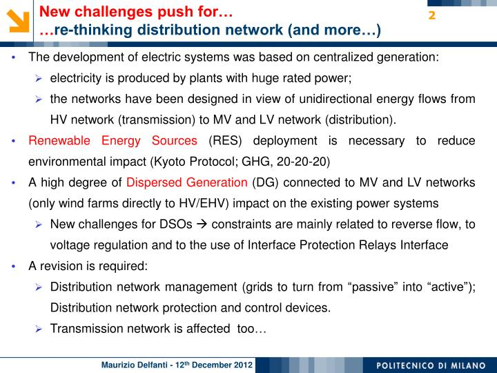 New challenges push for…