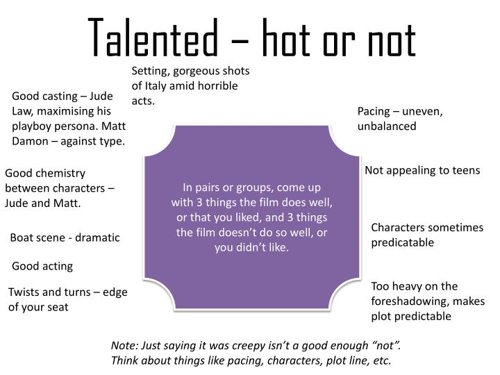 Talented – hot or not