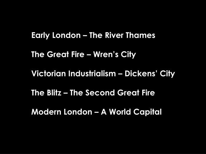 Early London – The River Thames