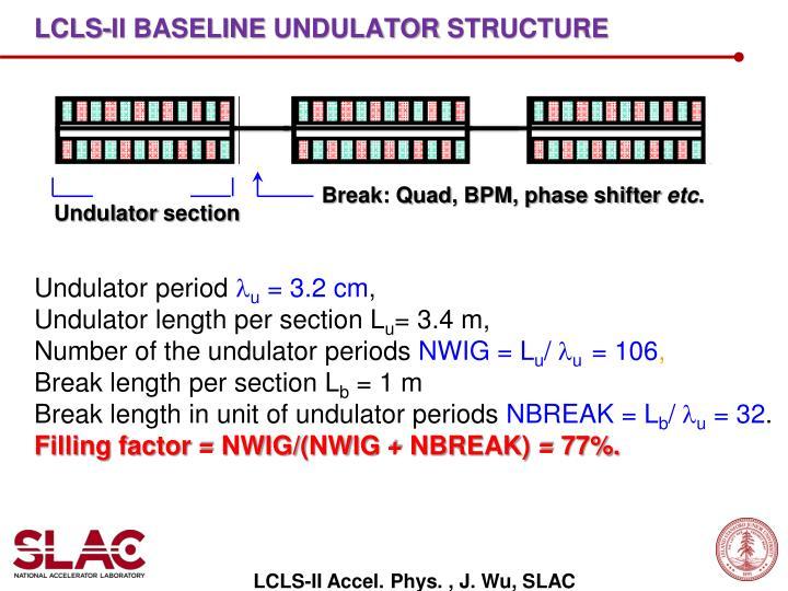 LCLS-II Baseline