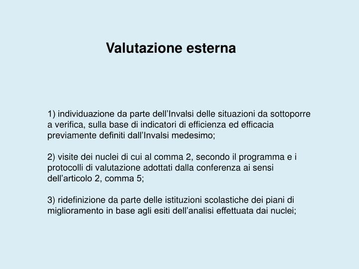 Valutazione esterna