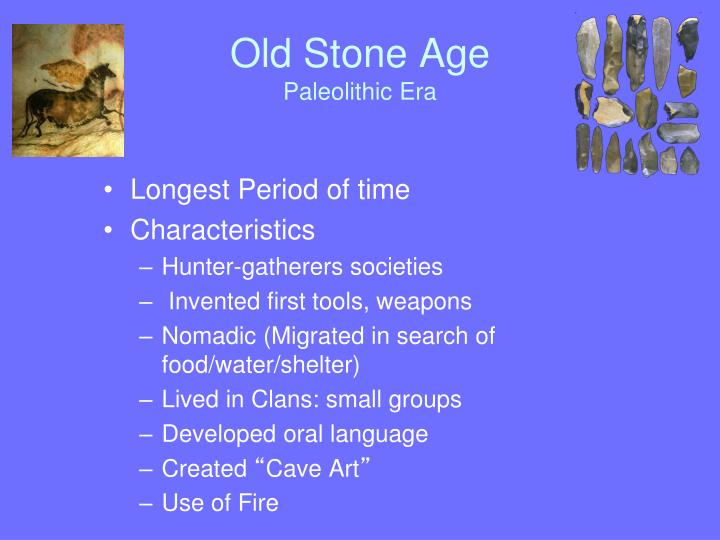 Old Stone Age