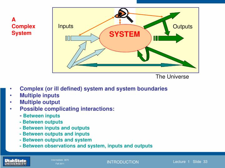 A Complex System