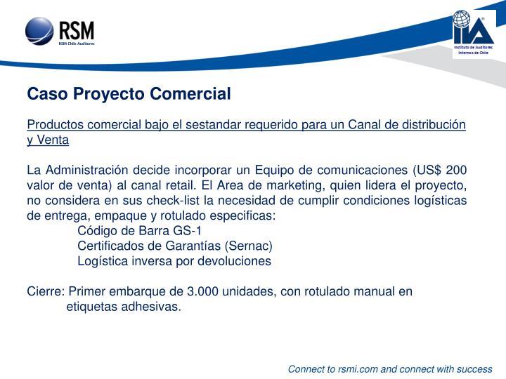 Caso Proyecto Comercial