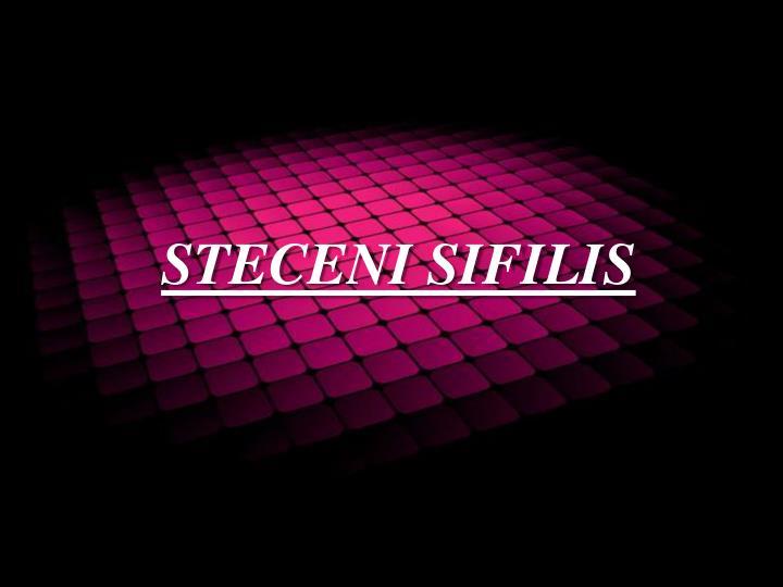 STECENI SIFILIS