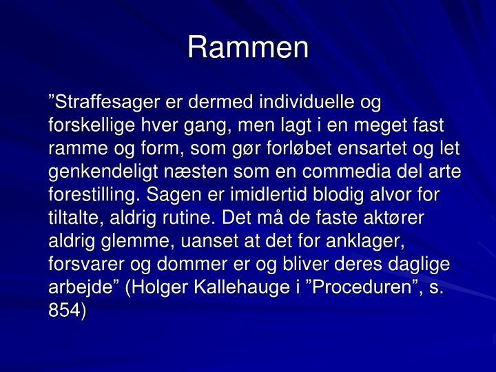 Rammen