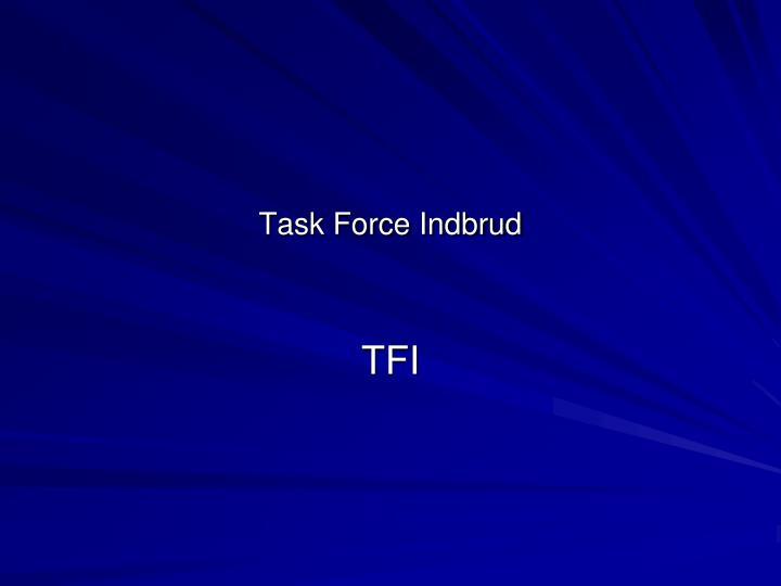 Task Force Indbrud