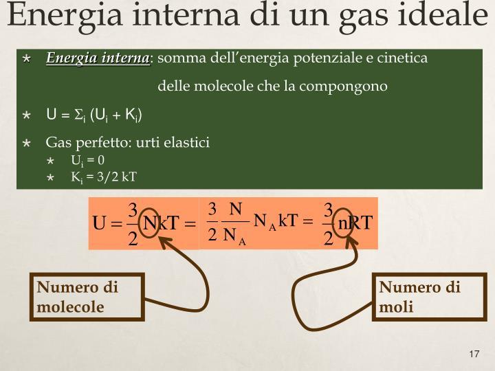 Numero di molecole