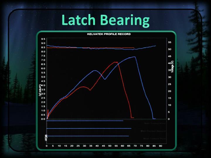 Latch Bearing