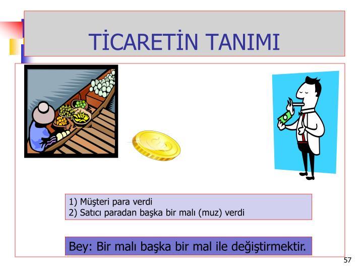 TİCARETİN TANIMI