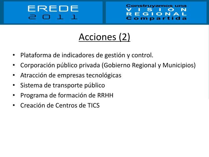 Acciones (2)
