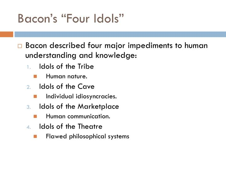 "Bacon's ""Four Idols"""