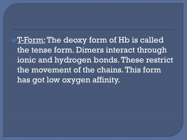 T-Form: