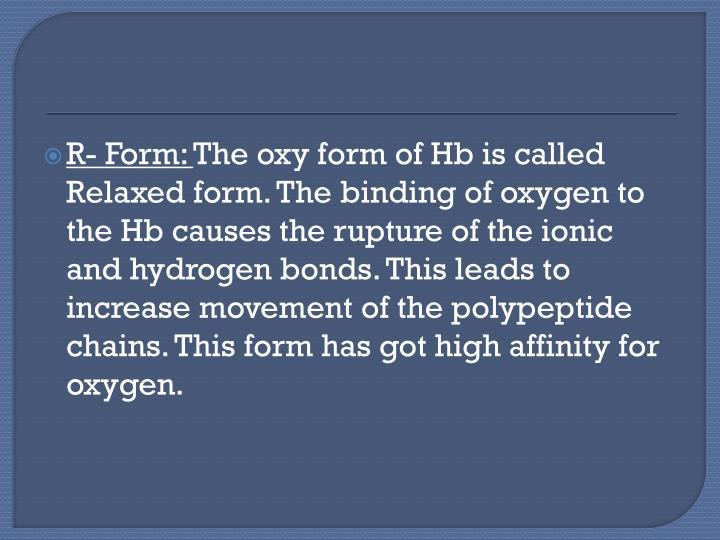 R- Form: