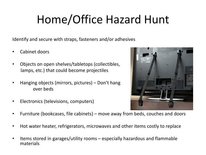 Home/Office Hazard Hunt